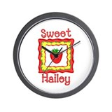 Sweet Hailey Wall Clock