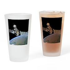 Military satellite Drinking Glass