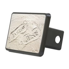 Sandy Footprints Hitch Cover