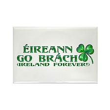 Éireann go Brách Rectangle Magnet (10 pack)