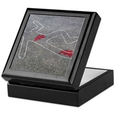Body oultine Keepsake Box