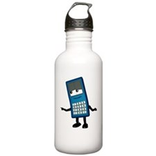 Mobile phone cartoon c Water Bottle