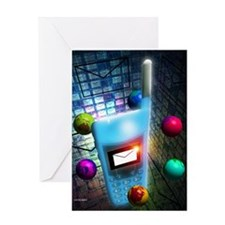 Mobile telephone text messaging Greeting Card