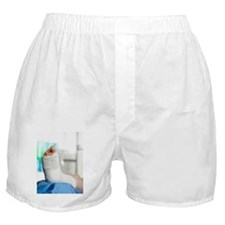 Broken foot Boxer Shorts