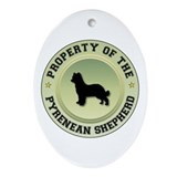Shepherd Property Oval Ornament