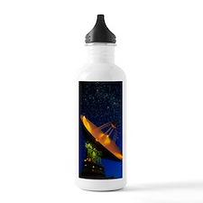 NASA deep space tracki Water Bottle