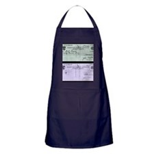 Cheque fraud Apron (dark)