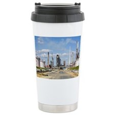 Oil refinery Ceramic Travel Mug