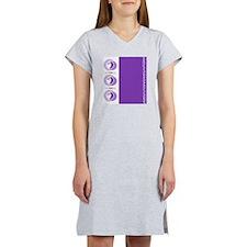 Luggage Handle Wrap Women's Nightshirt