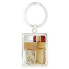 Cheese selection Portrait Keychain