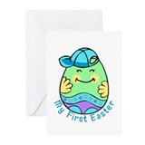 My First Easter Egg Boy Greeting Cards (Pk of 10)