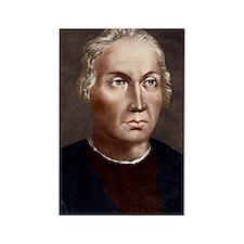 Christopher Columbus, Italian exp Rectangle Magnet