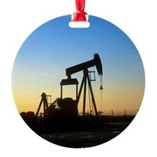 Oil well pump Ornament