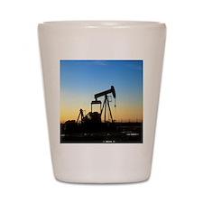 Oil well pump Shot Glass