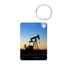 Oil well pump Keychains