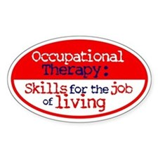 OT Skills Oval Decal