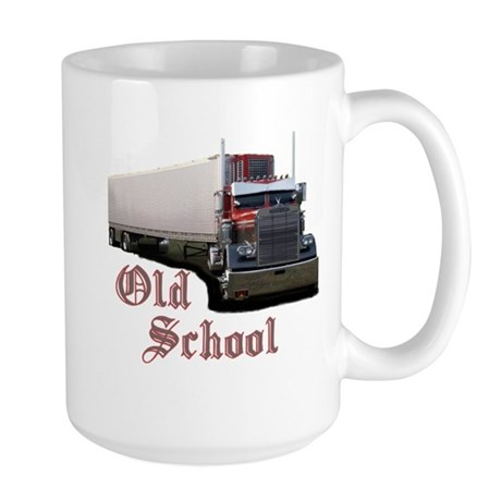Old School Large Mug
