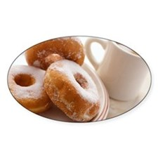 Coffee and doughnuts Decal