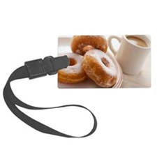 Coffee and doughnuts Luggage Tag
