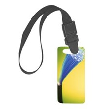 Optical fibres Luggage Tag