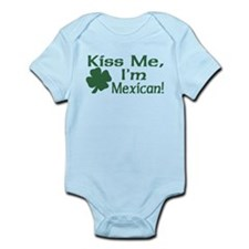 Kiss Me I'm Mexican Infant Bodysuit