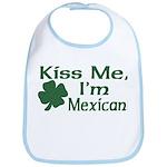 Kiss Me I'm Mexican Bib