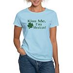Kiss Me I'm Mexican Women's Light T-Shirt