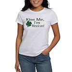 Kiss Me I'm Mexican Women's T-Shirt