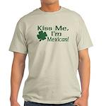 Kiss Me I'm Mexican Light T-Shirt