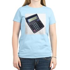 Close up of a calculator T-Shirt