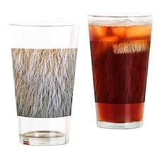 White Fur Drinking Glass