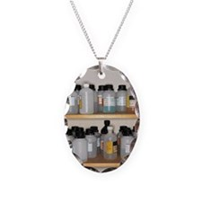 bottles of hazardous chemicals Necklace