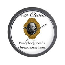 Grover Cleveland Wall Clock