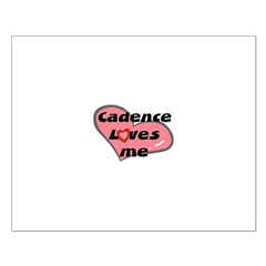 cadence loves me Posters