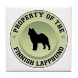 Lapphund Property Tile Coaster