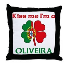 Oliveira Family Throw Pillow