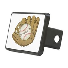 Custom Baseball Hitch Cover