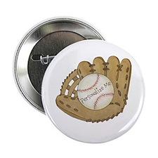 """Custom Baseball 2.25"""" Button (10 pack)"""