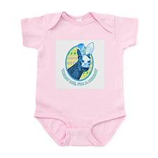 Easter horse Trust me, I'm a bunny Infant Bodysuit