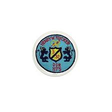 uss henry w. tucker ddr patch transpar Mini Button