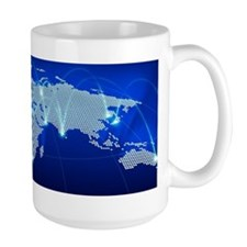 World networking communications Mug