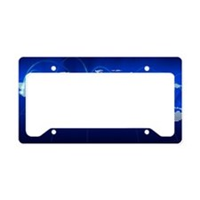 World networking communicatio License Plate Holder