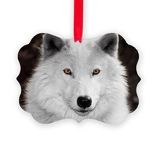 Arctic wolf Ornament