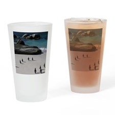 white sandy beaches and calm, safe, Drinking Glass