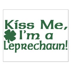 Kiss Me I'm a Leprechaun Small Poster