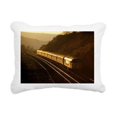 45130 glints superbly as Rectangular Canvas Pillow