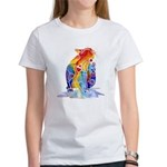 LOVE CAT Bright Colors Women's T-Shirt