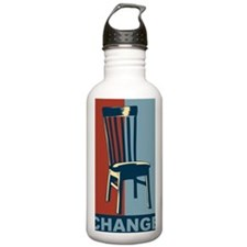 Eastwood And The Chair Water Bottle