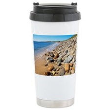 Beach Ceramic Travel Mug
