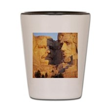 Mt. Rushmore National Memorial, South D Shot Glass